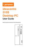 Página 1 do Lenovo Ideacentre 510S-07ICK