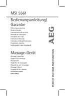 Página 1 do AEG MSI 5561
