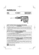 Metabo H 60MEY Seite 1