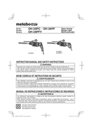 Metabo DH 26PC Seite 1