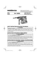Metabo DH 18DBL Seite 1