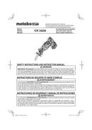 Metabo CR 36DA Seite 1