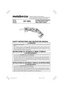 Metabo CR 10DL Seite 1