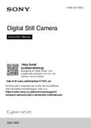 Sony CyberShot DSC-RX0 pagina 1