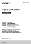 Sony CyberShot DSC-RX0 Seite 1