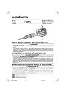 Metabo H 90SG Seite 1