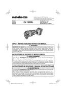 Metabo CV 18DBL Seite 1