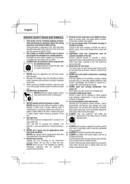 Metabo CV 18DBL Seite 4