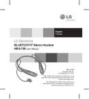 LG HBS-700 page 1