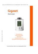 Gigaset thermostat page 1