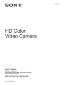 Sony SRG-300SE sivu 1