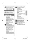 Página 5 do Panasonic CS-RZ50WKEW