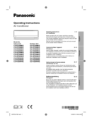 Panasonic CU-UZ50WKE Seite 1