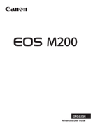 Canon EOS M200 side 1