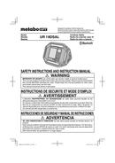 Metabo UR 18DSAL Seite 1