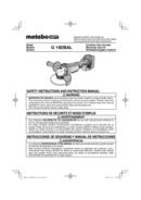 Metabo G 18DBAL Seite 1