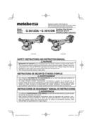 Metabo G 3612DA Seite 1