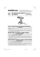 Metabo DS 12DVF3 Seite 1