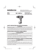 Metabo DS 10DFL2 Seite 1