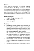 Mophie Charge Stream pad mini page 2