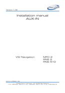 Volkswagen RNS 2 Seite 1