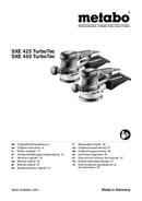 Metabo SXE 450 TurboTec Seite 1