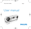 Philips GoGear PSS231 page 1
