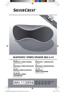 SilverCrest SBLS 6 A1 sivu 1