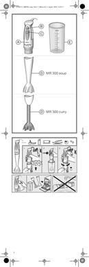 Braun Multiquick 3 MR 300 Curry pagina 2