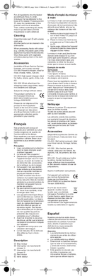 Braun Multiquick 3 MR 300 Curry pagina 4