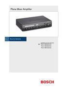 Bosch PLE‑1MA120‑EU page 1