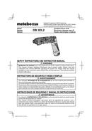 Metabo DB 3DL2 Seite 1