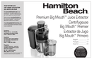 Hamilton Beach Premium Big Mouth 67850 pagina 1