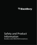 Pagina 1 del BlackBerry Bold 9900